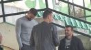 Инж. Петър Пешев, Вальо Илиев и Емил Гъргоров в любопитен разговор на почивката на Витоша - Черно Море