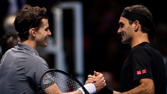 Тийм продължава с победите срещу Федерер