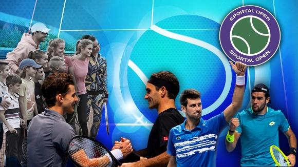 """Григор отново у дома, ще бъде ли спрян Джокович на финалите на ATP - гледайте """"Sportal Open"""""""