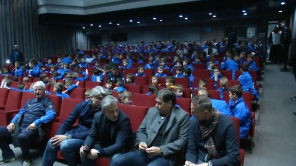 """Юношите на Левски се запознаха с """"Легендата 7:2"""""""