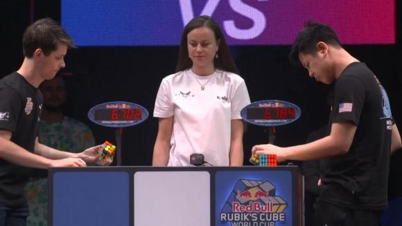 САЩ и Франция триумфираха на Световното за скоростно подреждане на Кубчето на Рубик
