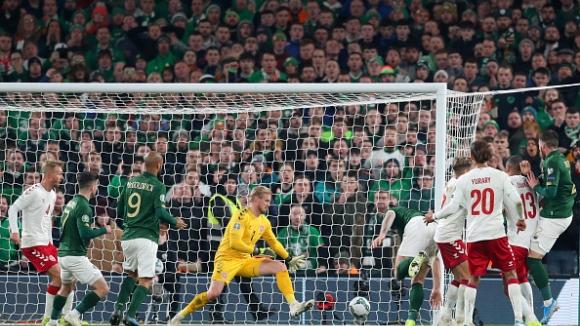 Ирландия - Дания 1:1