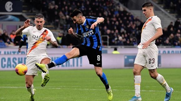 Рома за пореден път спря Интер