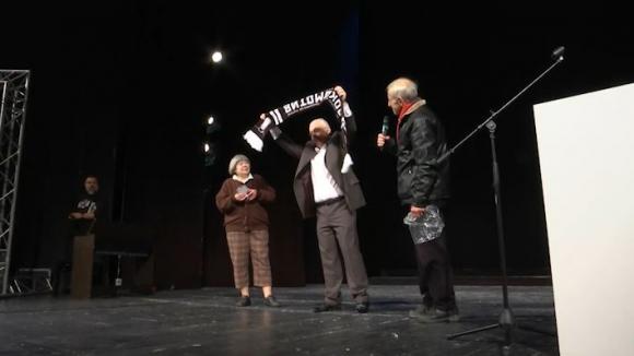 """Легендата Гочо Василев обра овациите на """"Черно-бялата"""" Коледа"""