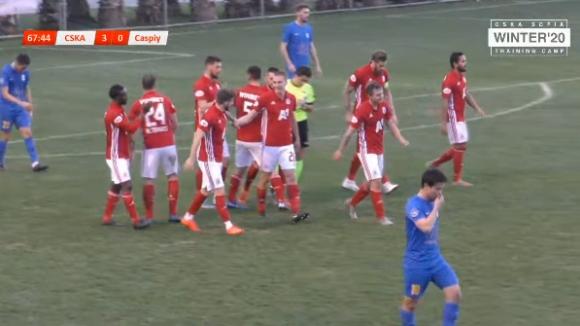 ЦСКА-София - Каспий 4:0