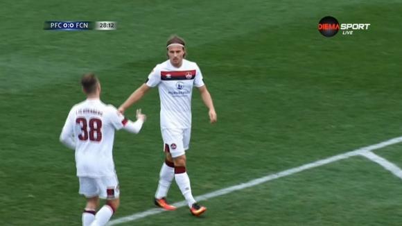Лохкемпер откри за Нюрнберг срещу ЦСКА-София