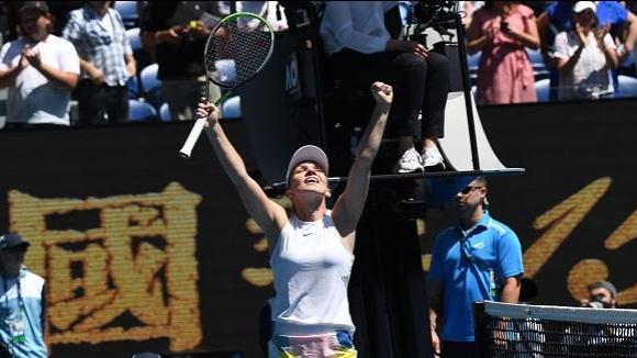 Халеп се класира по категоричен начин за полуфиналите на Australian Open