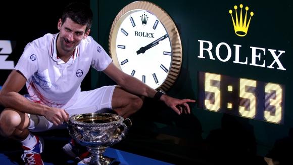 На този ден – Джокович печели най-продължителния финал на турнир от Големия шлем