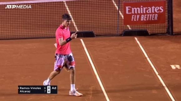 16-годишен испанец записа първата си победа на ниво АТП