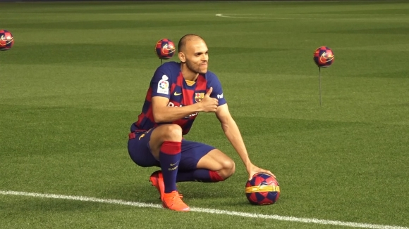 Барселона представи официално Мартин Брейтуейт