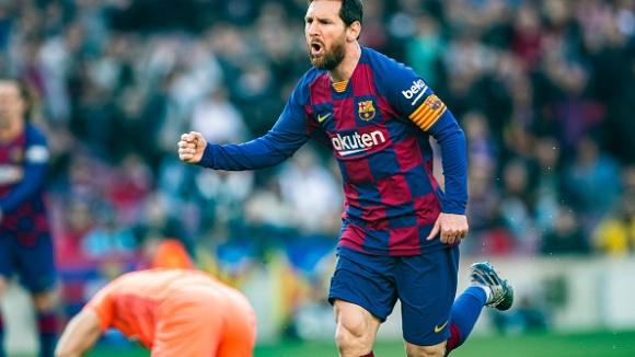 Барселона - Ейбар 5:0, Меси с четири гола
