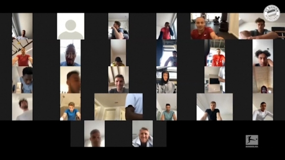 Швайнщайгер се включи във виртуална тренировка на Байерн