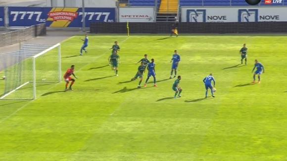 Мартин Петков вкара втория гол във вратата на Витоша