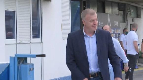"""Наско Сираков дойде на """"Герена"""" в компанията на Павел Колев и Тити Папазов"""