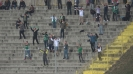 Феновете на Лудогорец ликуват след гола във вратата на Левски