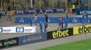Играчите на Левски поздравиха и аплодираха публиката си след мача с Лудогорец