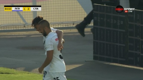 Филип Кръстев шокира Левски минути преди края на мача
