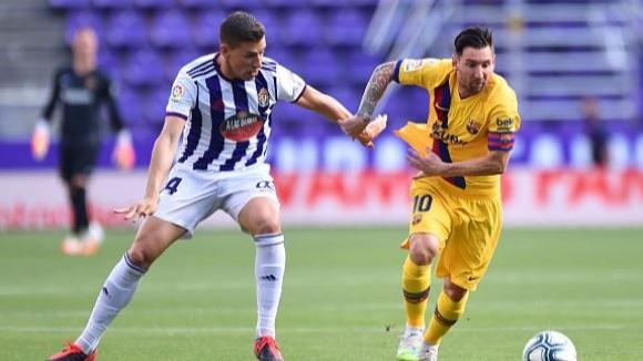Реал Валядолид - Барселона 0:1
