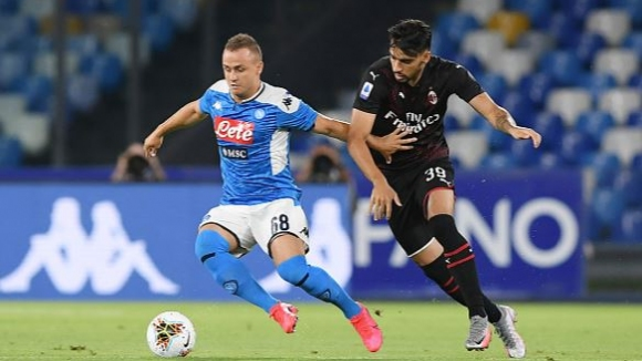 Наполи и Милан не се победиха
