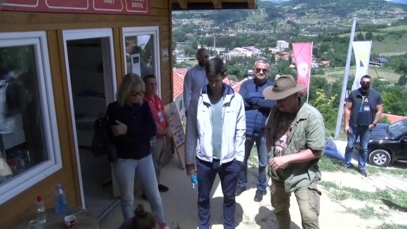Джокович се появи в Босна