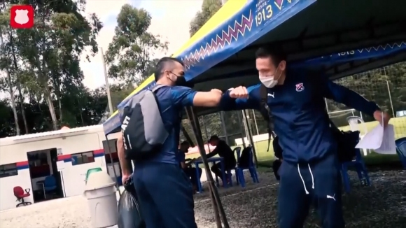 Удар за колумбийския футбол