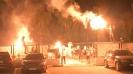 """""""Белите"""" фенове с огнено шоу след класирането за бараж за Лига Европа"""