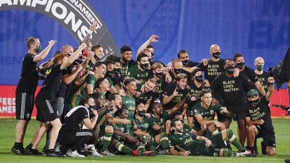 Портланд спечели титлата в МЛС