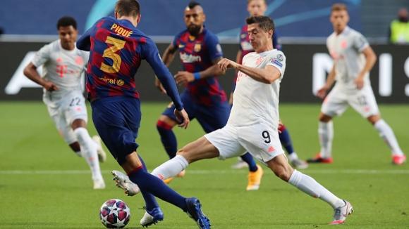Барселона - Байерн Мюнхен 2:8