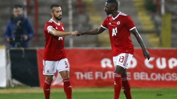 Първи гол за Георги Йомов с червената фланелка и 2:0 за ЦСКА-София срещу Б36