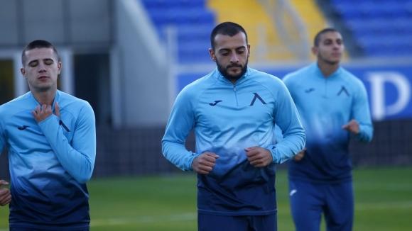 Левски с първа тренировка след загубата от Славия