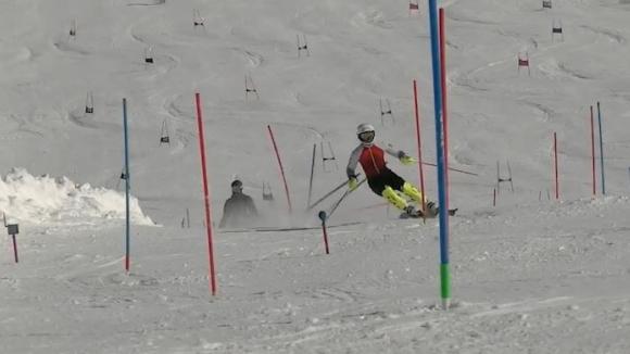 Алберт Попов показва класа в Алпите