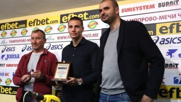 ЦСКА-София и Стамен Белчев са отбор и треньор №1 на месец септември