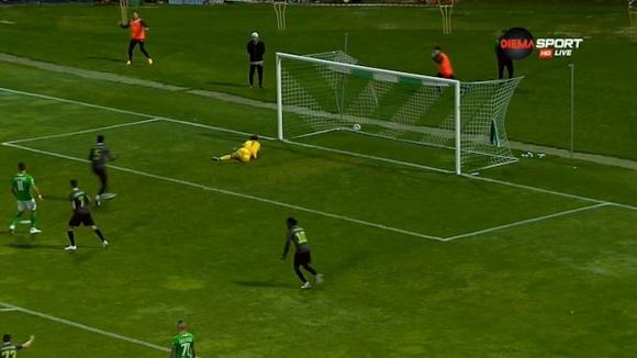 Втори гол на Фал и резултатът между Пирин и Берое вече е 3:3