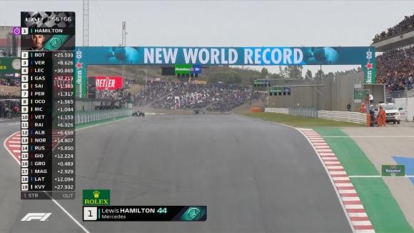 Хамилтън спечели Гран При на Португалия и подобри рекорд на Шумахер