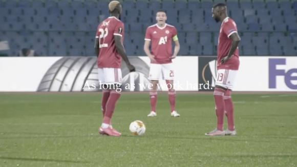 ЦСКА-София амбицира играчите преди мача в Рим