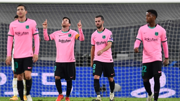 14' Ювентус - Барселона 0:1
