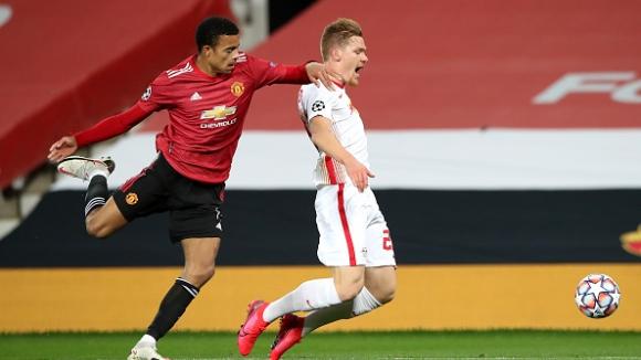 21' Манчестър Юнайтед - РБ Лайпциг 1:0