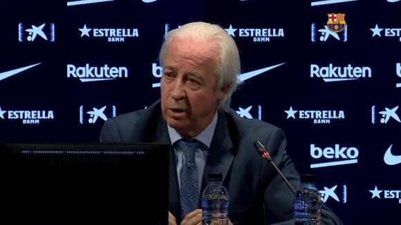 Временният президент на Барселона си пожела скорошни избори