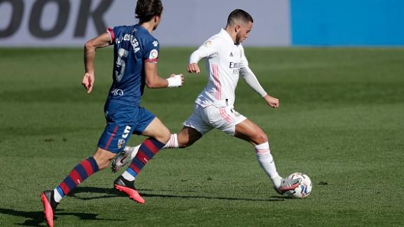 Реал Мадрид - Уеска 4:1, Азар се завърна с гол