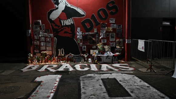 Последните мигове на Диего Марадона