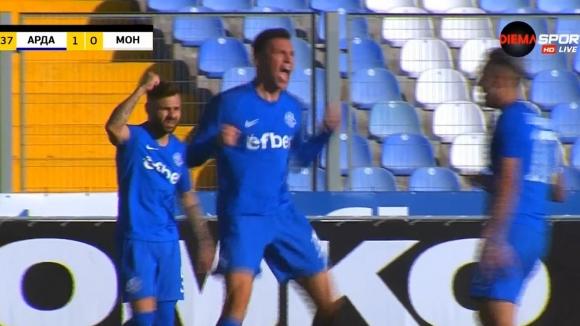 Румен Руменов направи резултата 2:0 за Арда срещу Монтана