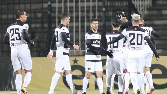 Момчил Цветанов откри във втората минута за Локо (Пловдив) срещу Ботев