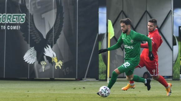 Жосуе Са върна преднината на Лудогорец след спорен гол