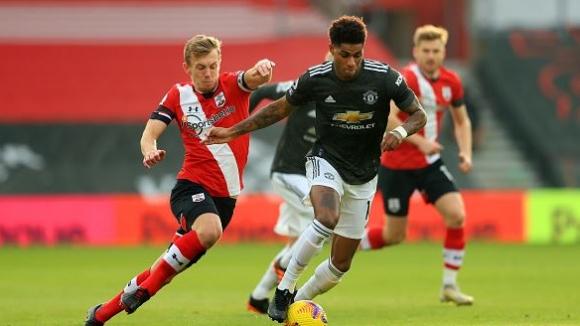 Манчестър Юнайтед със страхотен обрат от 0:2 до 3:2 срещу Саутхамптън