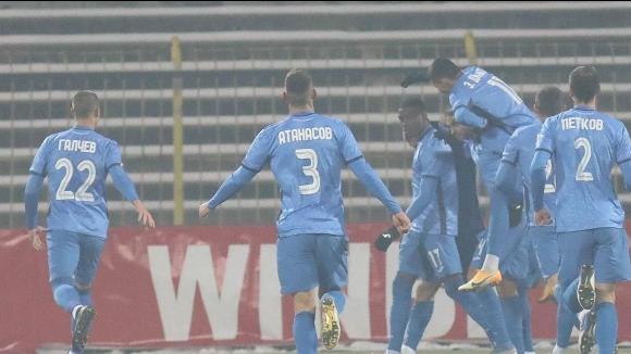 Робърта откри за Левски срещу Локомотив (Пд) с гол от дузпа