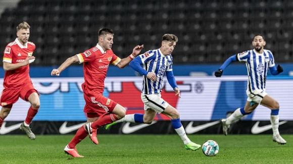 Обрат донесе успех на Херта срещу Унион в дербито на Берлин