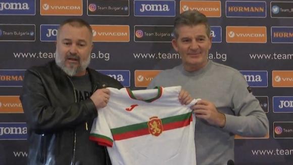 Представиха официално Ясен Петров като селекционер на националния отбор