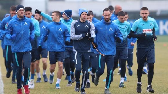 Две тренировки за Левски в Хърватия
