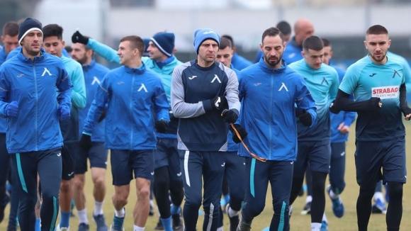 В Левски продължават с двуразовите тренировки