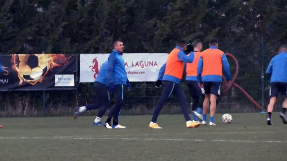 Левски с последна тренировка преди мача срещу Домжале